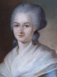 Olympe de Gouges (1748-1793) French Feminist Writer and Political Activist.