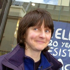Helen Steel. British Environmental Campaigner and Feminist.