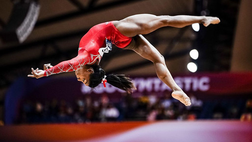 Simone Biles (1997-) US Olympic Gymnast.