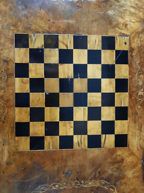 Chessboard top table