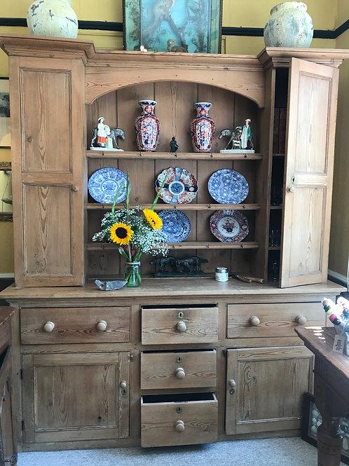 Waxed pine dresser