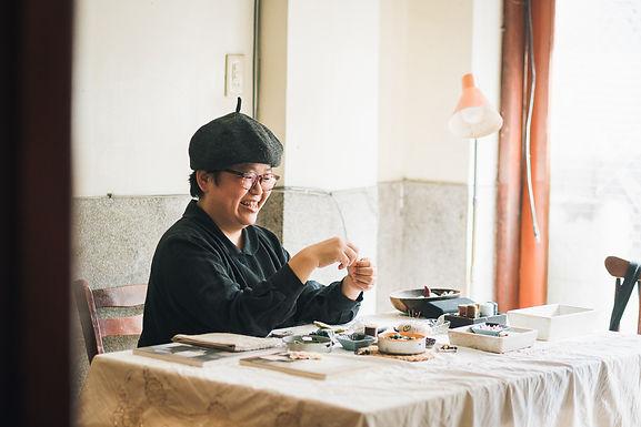 【老屋調查誌】永無島刺繡工作室-喜歡跟老屋一起生活的味道