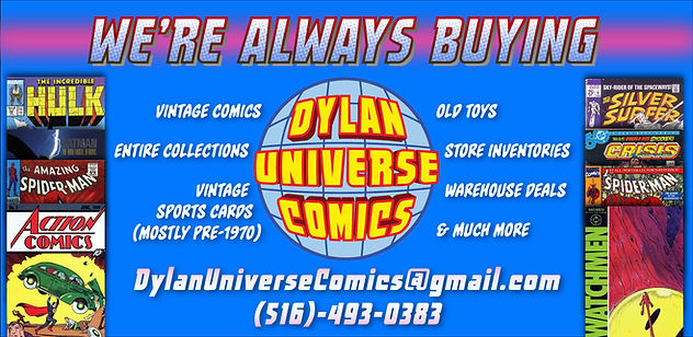 Dylan Universe Comics: Top Old Comic Book Buyers