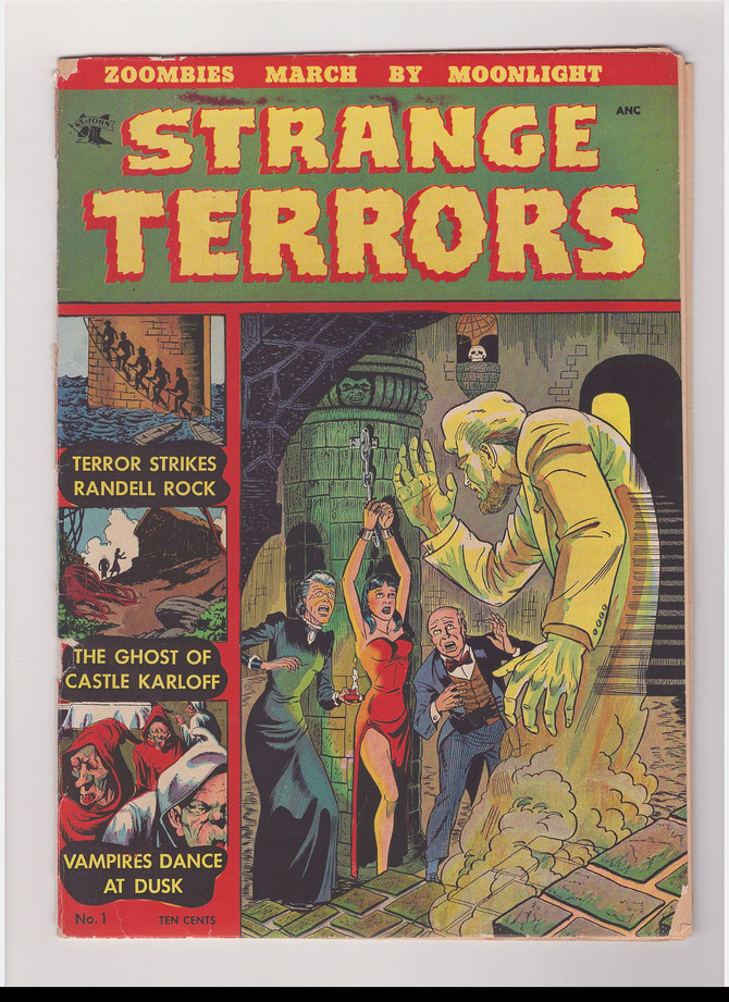 Pre-Code Horror Comics and How One Man Tried to Stop Them.
