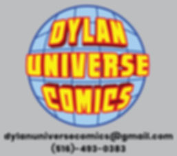 Dylan Universe Comics Contact Information