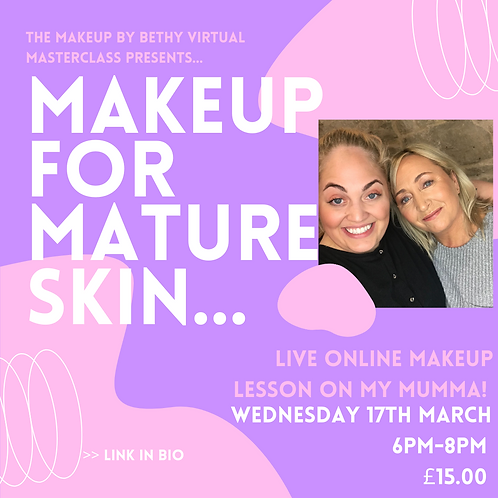 MAKEUP FOR MATURE SKIN - 17TH MARCH