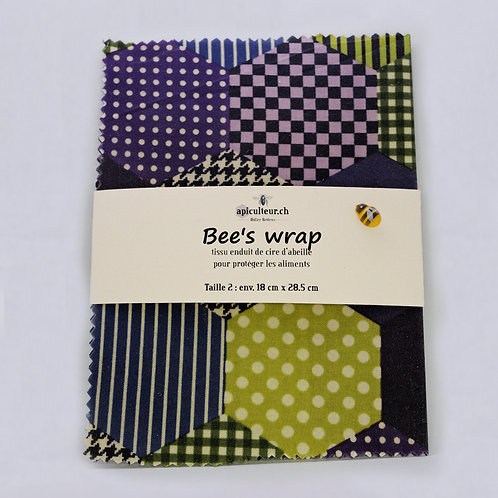 Bee's wrap (taille 2)
