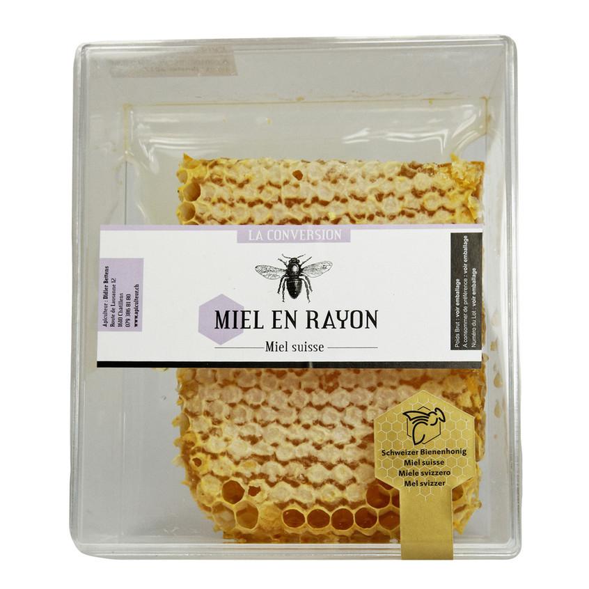 emballage miel en rayon