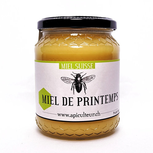 "Miel de printemps ""La Conversion"" 500g / 1ère récolte"