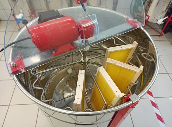 Extracteur radiaire motorisé LEGA TUCANO avec moteur TOP / en radial