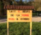 panneau ferme des biolles