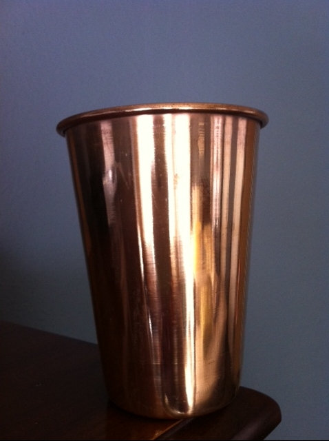 Copper Cup used for Ushapan