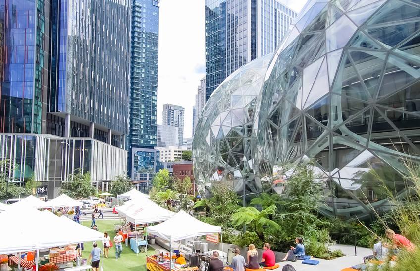 Amazon Headquarters, Seattle, WA