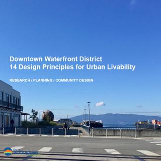 Bellingham Waterfront Urban Livability to  Bellingham Waterfront Regeneration Masterclass & Design Principles, Bellingham, WA