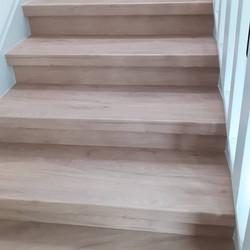 Escaliers remis à neuf