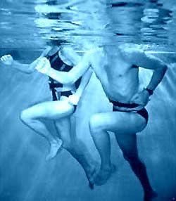 Encore dans l'inconnue pour la reprise des cours d'aquajogging