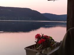 Vue depuis le lac de Longemer