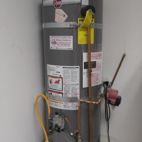 50 Gal Rheem Water Heater Installation