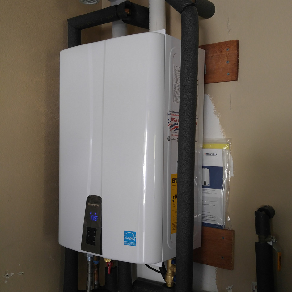Navien NPE240A Tankless Water Heater Installation