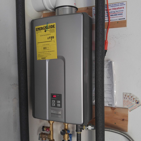 Rinnai RL 75iN Tankless Water Heater Installation