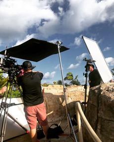 _tennischannel _bahamarresorts _visitthebahamas #gaffer #biglights #filmlighting #filmmaki