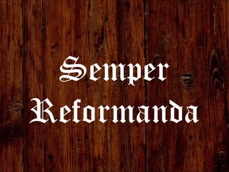 """A Season of Reform"""