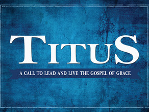 """""""The Nature of Ministry"""" – Titus 3:12-15"""