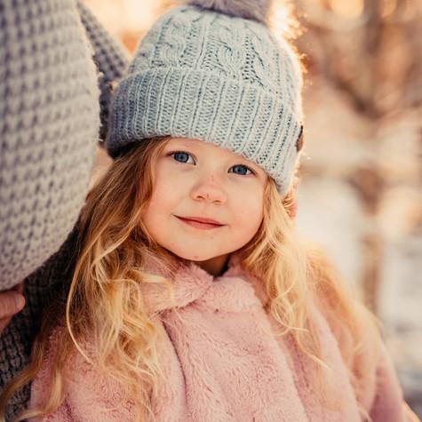 Bräckan, snö och familjefotografering = BRA KOMBO!