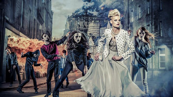 Advertising Photographer fashion, zombie