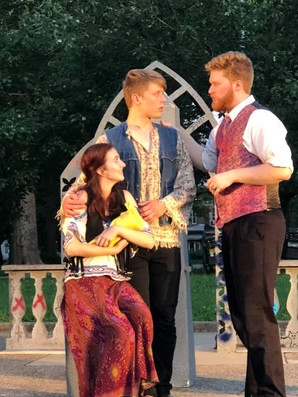"""A production still from """"Measure for Measure"""" with Commonwealth Classics Theatre Company."""