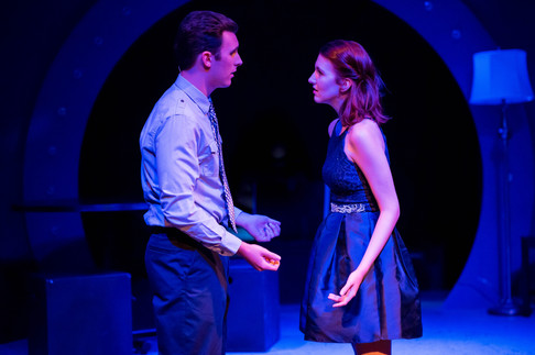 """A production still from """"Next to Normal"""" with New Light Theatre. Photo by Lena Mucchetti Photography."""
