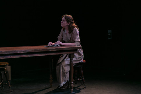 """A production still from """"Silent Sky"""" at the Stella Adler Studio. Photo by Joe Loper."""