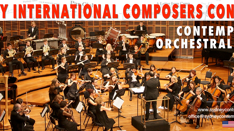 Contemporary Orchestral Music 2021 - Sydney Contemporary Orchestra