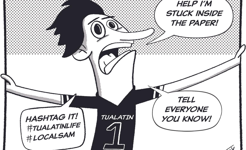 Local Sam Cartoon