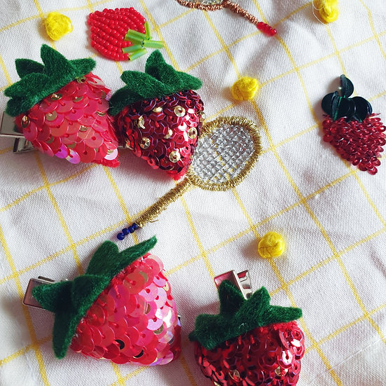 The Strawberry Hair Clip, The Dais and Liv