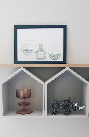 Salt Tequila Lime A5 Print