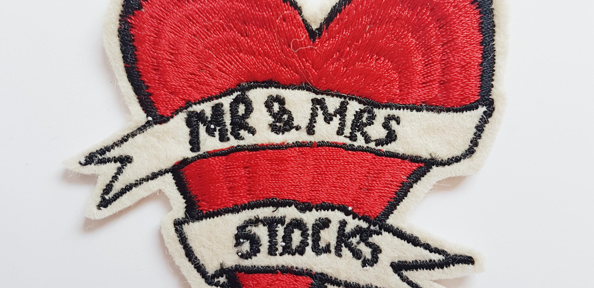 Husband and Wife Patch