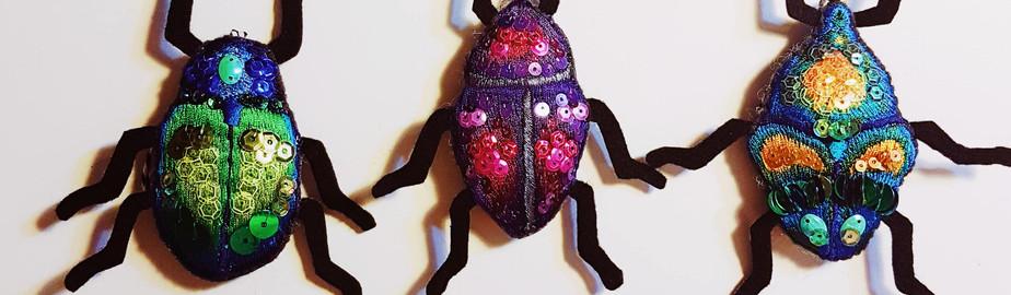 Set of 3 Beetles