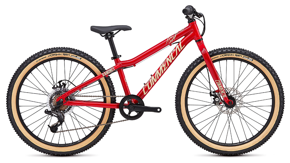 COMMENCAL RAMONES 24 RED 2019