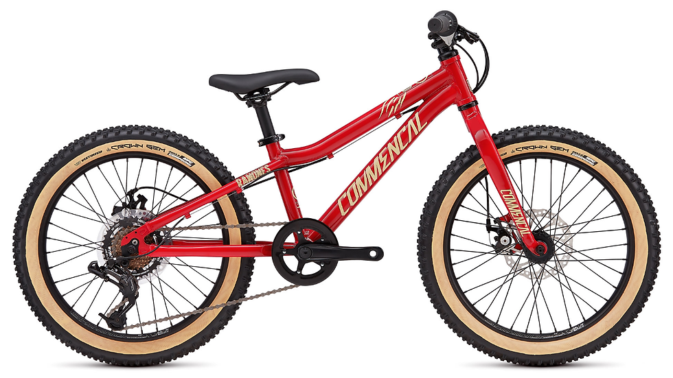 COMMENCAL RAMONES 20 RED 2019