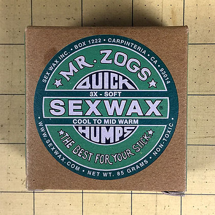 Sex Wax Quick Humps Cool - Mid Warm