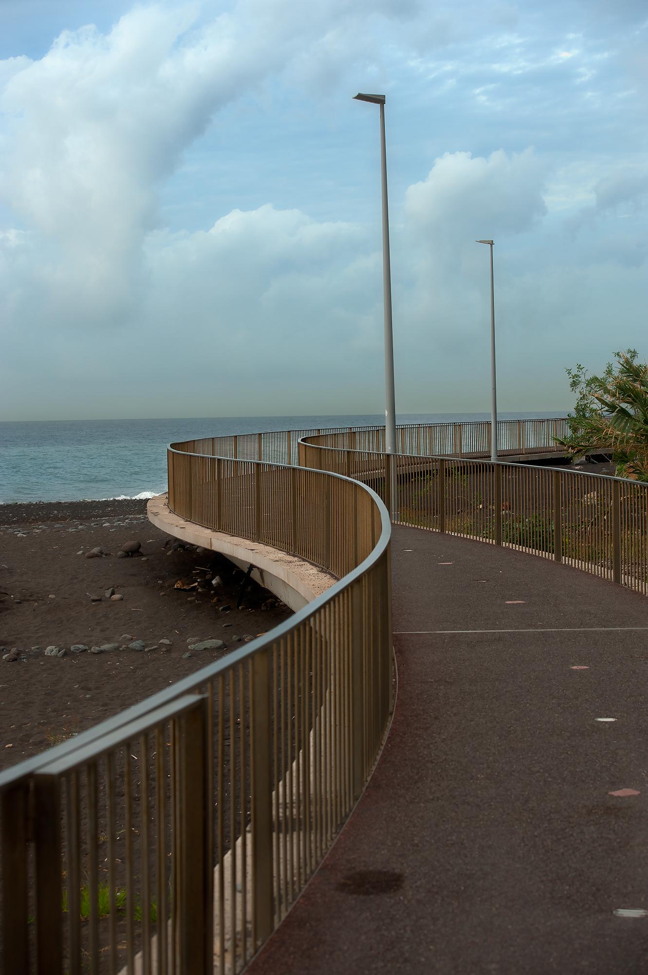 Strandpromenad Funchal Madeira
