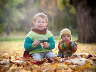 Barn i hösten