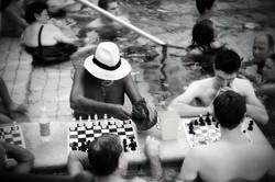 Budapest chessplayer
