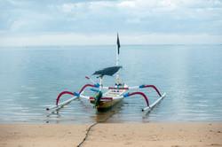 Traditionell båt Bali
