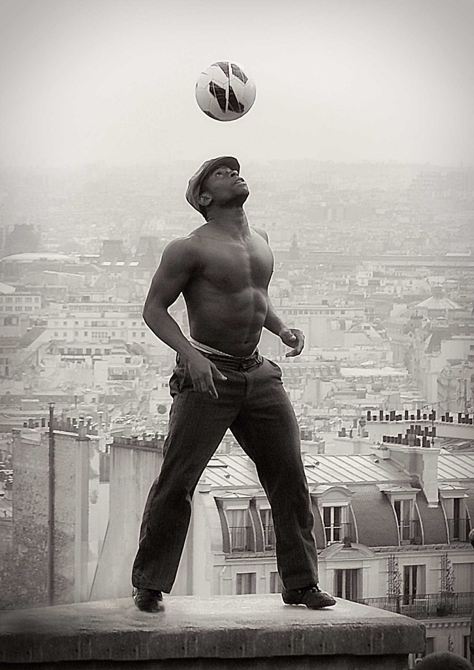 Lya Traore Montmartre Paris