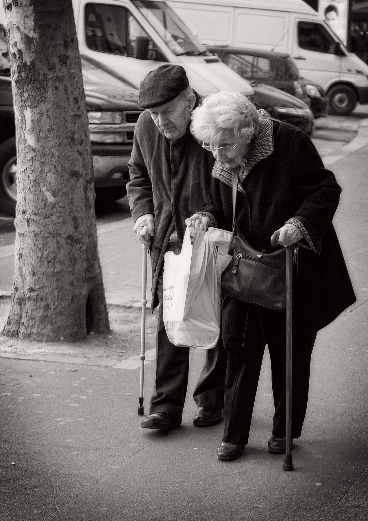The old couple in Paris