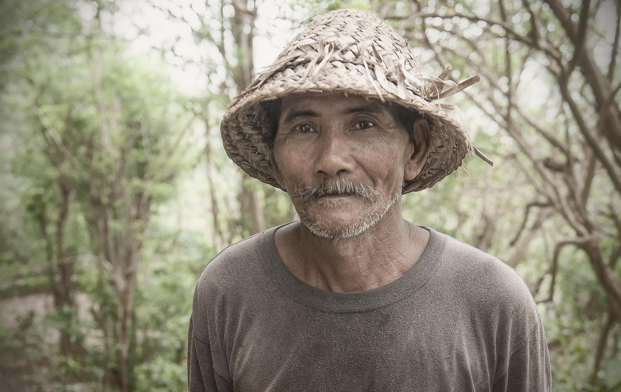 Man at Nyang Nyang