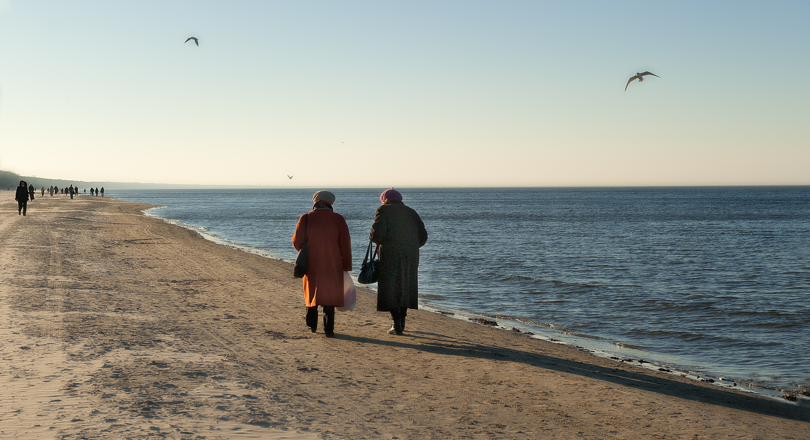 Jurmala beach Riga