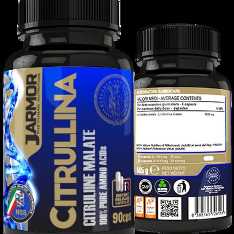 Jarmor Citrullina 100% Pure amino acid 90 Cps